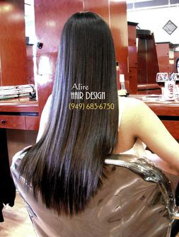 Japanese hair straightening Orange County | Irvine
