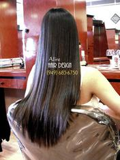 best Japanese hair straightening Orange County